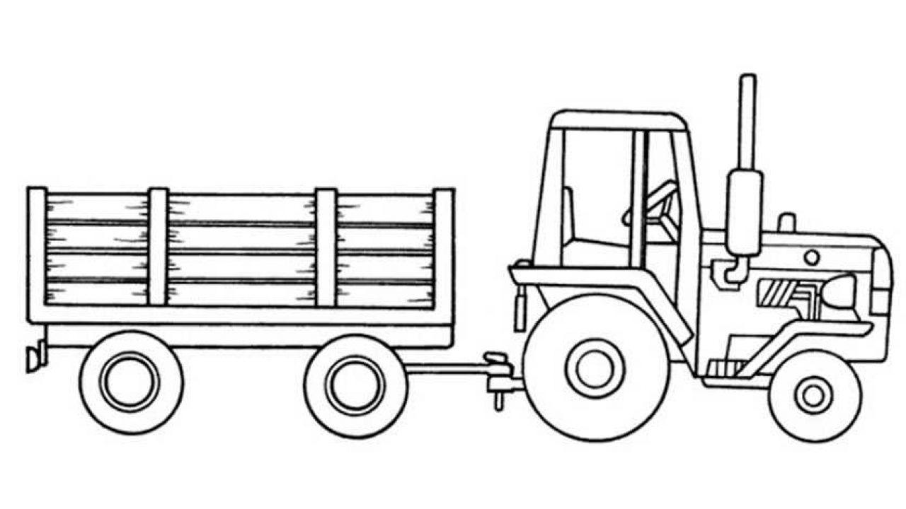 Ausmalbilder Kostenlos Traktor 6 Ausmalbilder Kostenlos