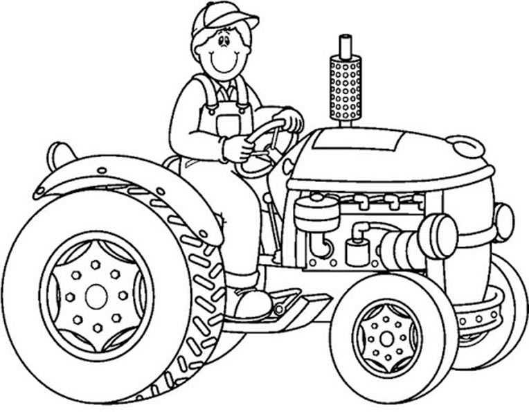 traktor 8 mit fahrer
