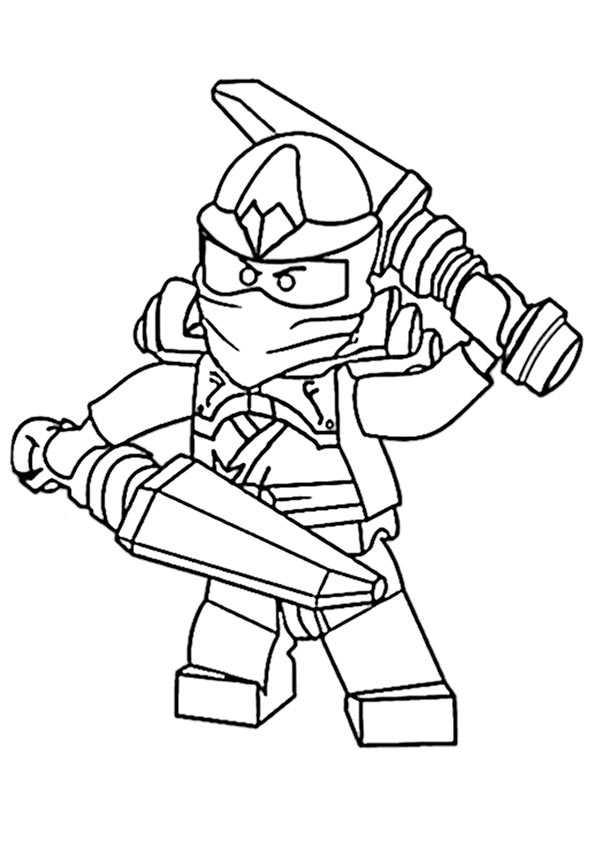 ninjago 19 zum ausmalen