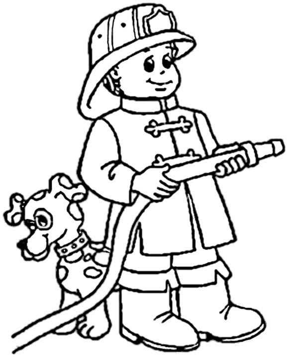 ausmalen feuerwehr 1