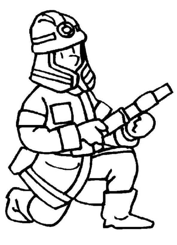ausmalen feuerwehr 3