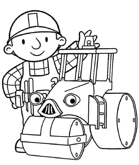 Bob der Baumeister 1 zum ausmalen