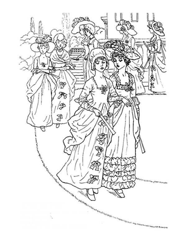 Frauen zu Fuß auf der Straße