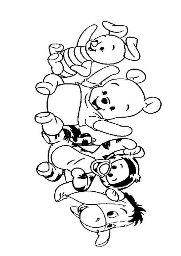 winnie pooh mit freunden