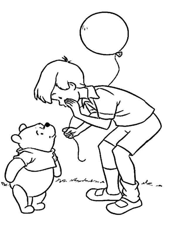 winnie pooh mit jungen