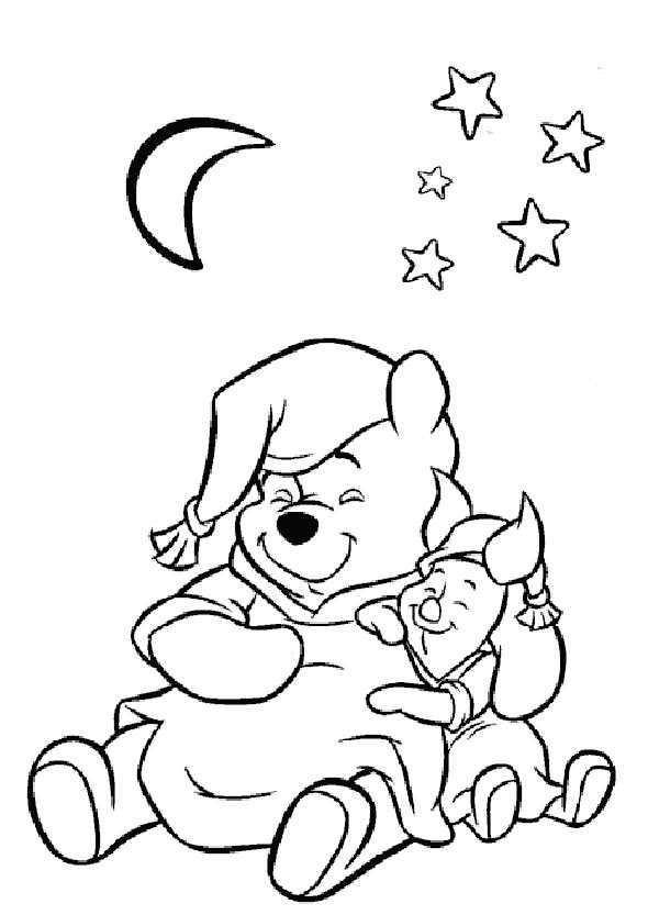 Winnie Puuh und Ferkel schlafen