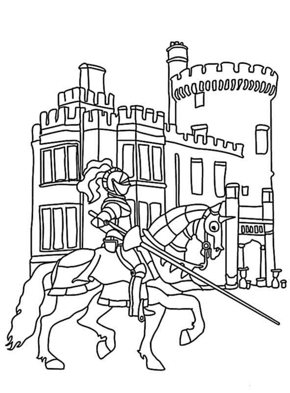 Ausmalbilder Kostenlos Ritter 10 Ausmalbilder Kostenlos