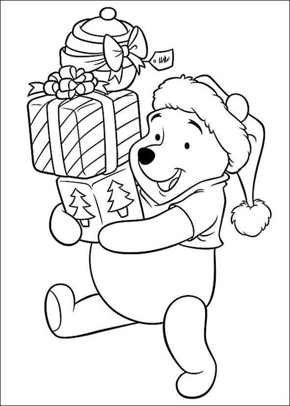 winnie poo weihnachten