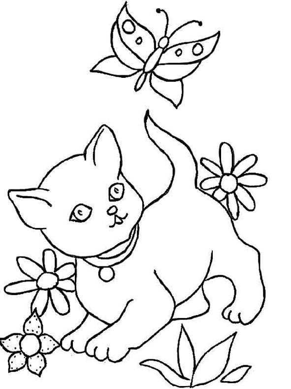 malvorlagen katzen 6