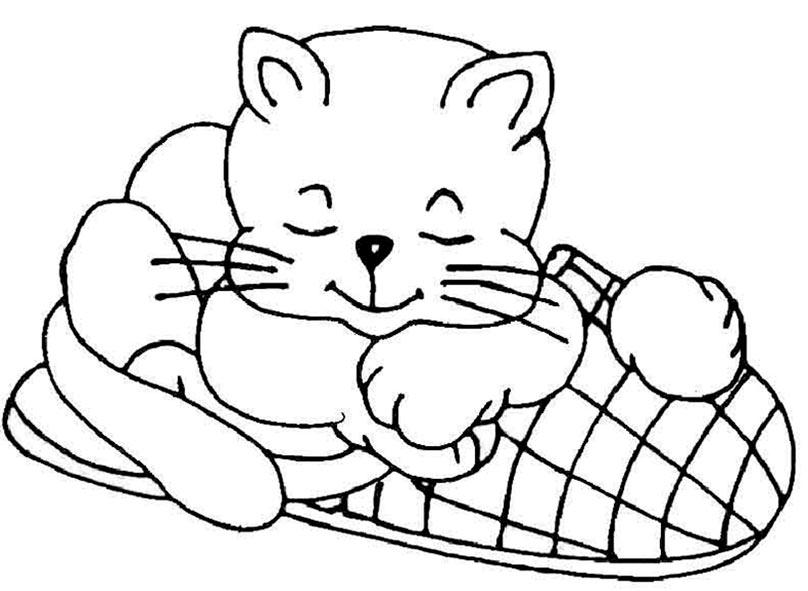 malvorlagen katzen 10