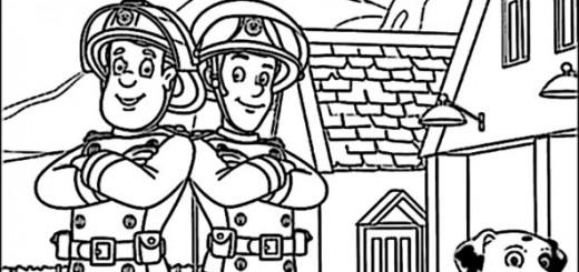 Ausmalbilder Feuerwehrmann Sam Pdf ~ Die Beste Idee Zum Ausmalen von ...