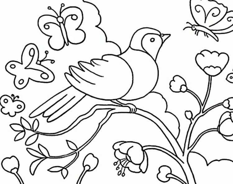 Kostenlose Malvorlagen Frühling My Blog
