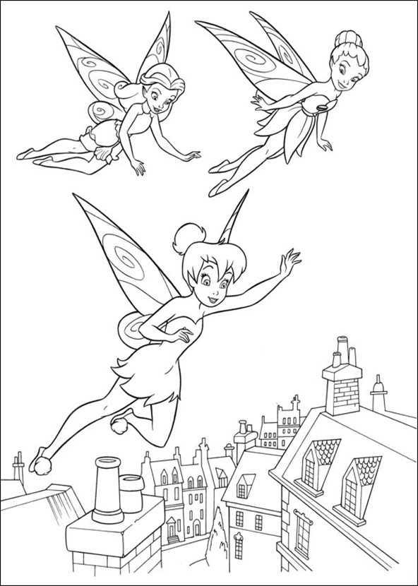 tinkerbell ausmalbilder -3-