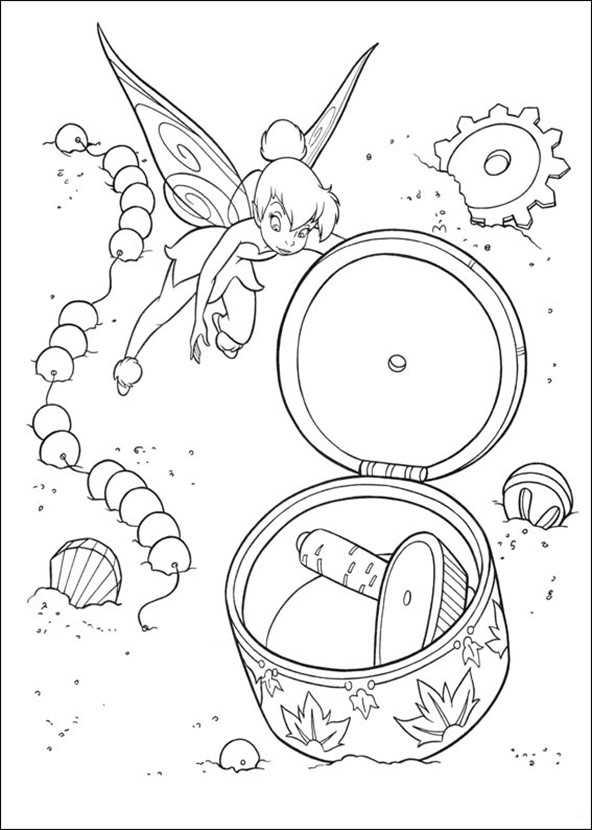 tinkerbell ausmalbilder -5-