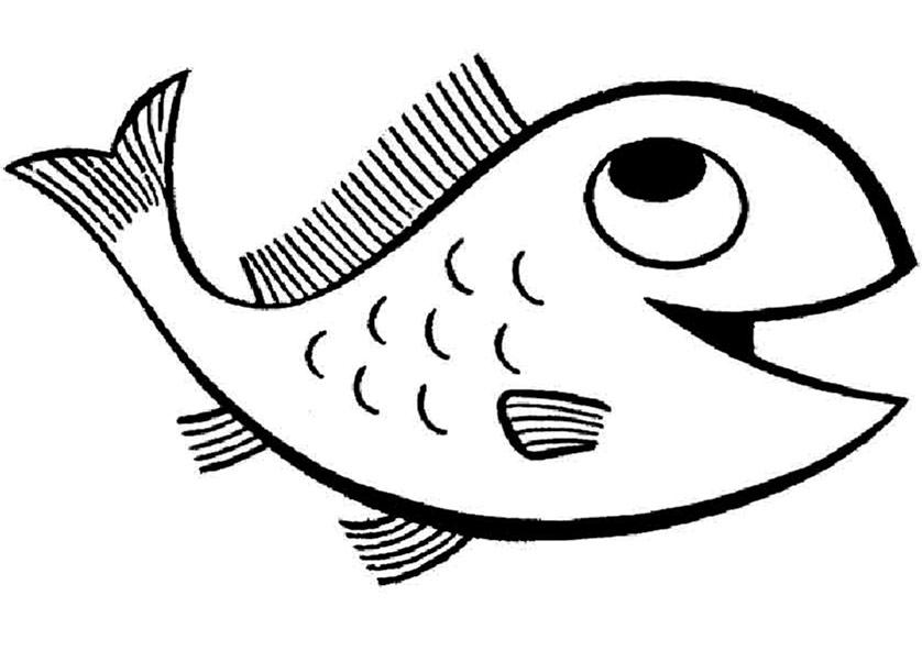 ausmalbilder fische 12