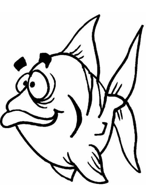 ausmalbilder fische 6