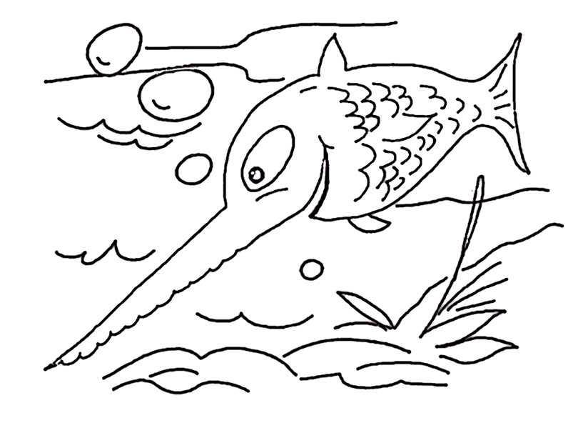 fische ausmalbilder 7