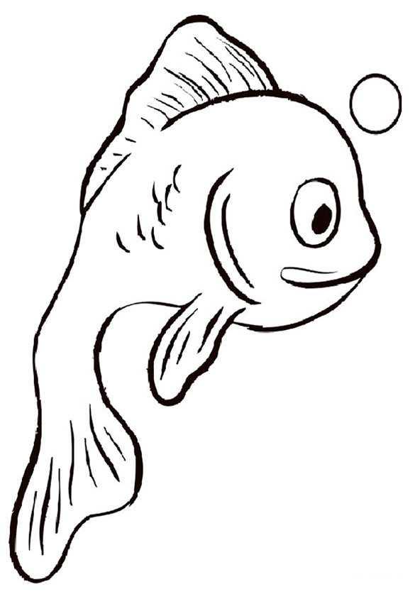 ausmalbilder fische 9