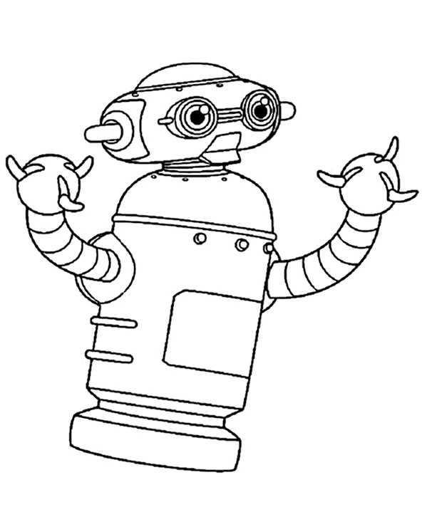 Ausmalbilder Kostenlos Roboter 12 Ausmalbilder Kostenlos