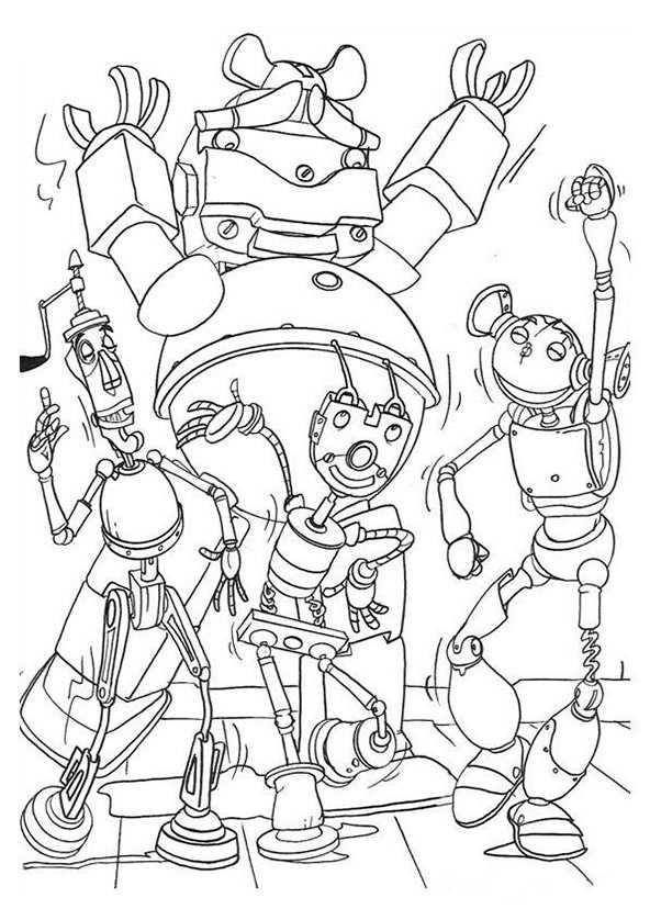 ausmalbilder roboter (13)