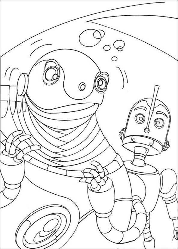 malvorlagen roboter (16)