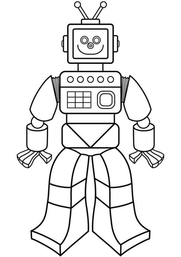 ausmalbilder roboter (2)