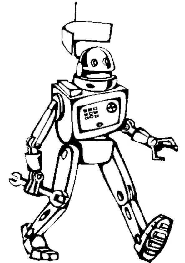 ausmalbilder roboter (3)