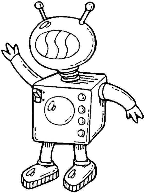 ausmalbilder roboter (5)