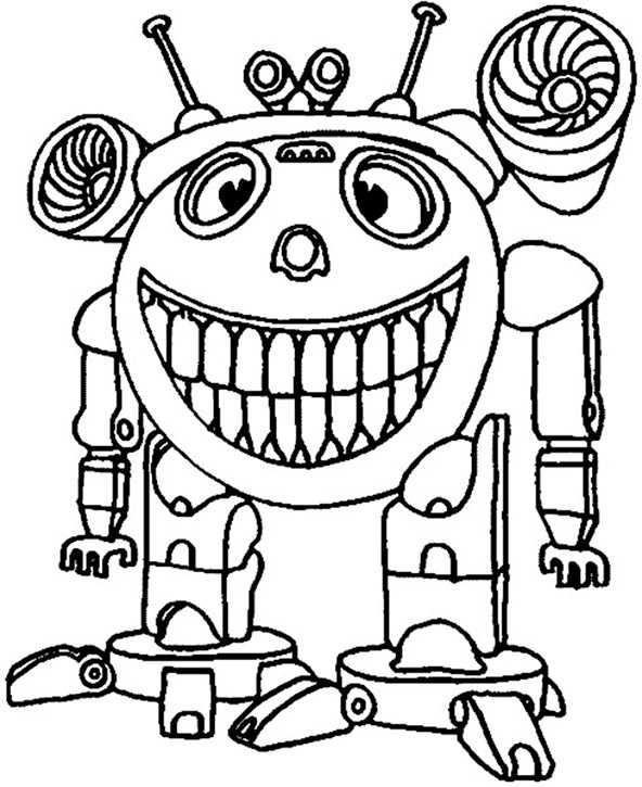 bilder zum ausmalen roboter (6)