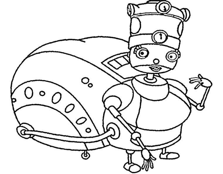 ausmalbilder roboter (9)