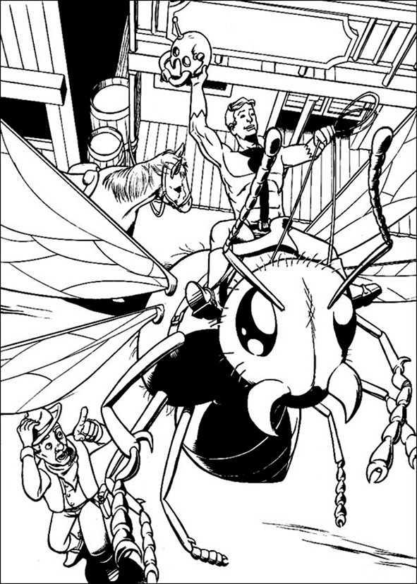Bilder 3 Ant-Man zum ausmalen