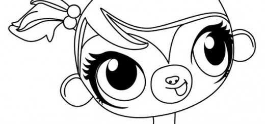 Littlest Pet Shop ausmalbilder 5