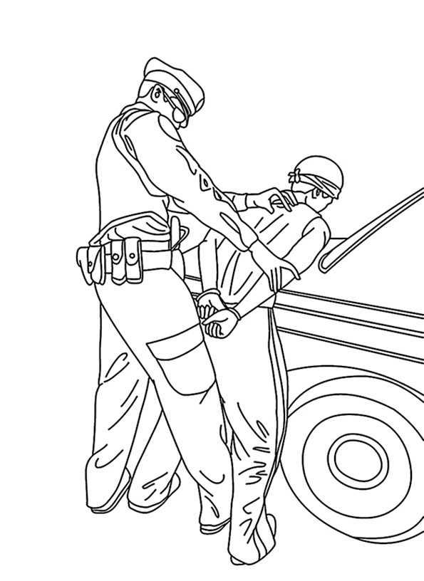 malvorlagen polizei 7