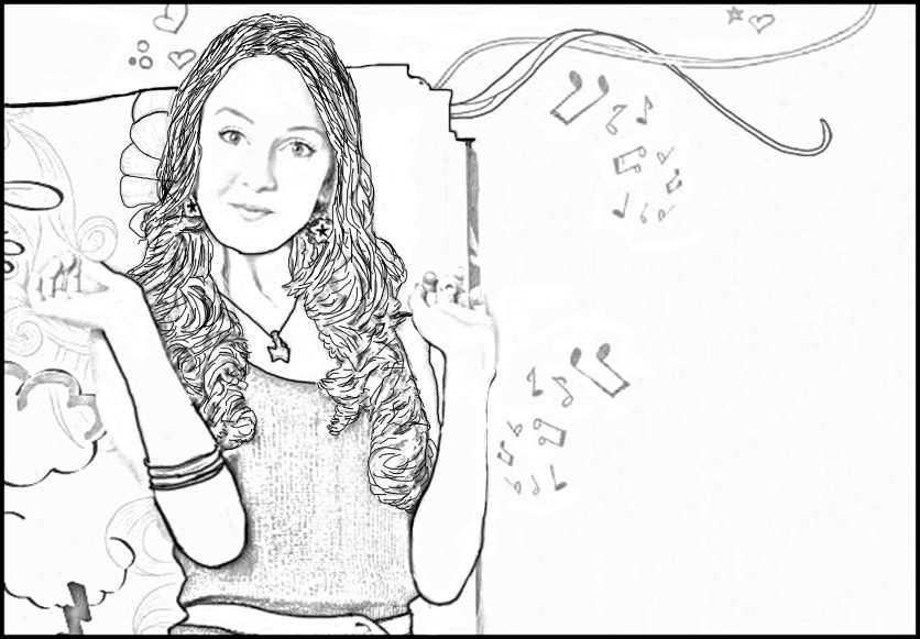 Violetta ausmalbilder 9