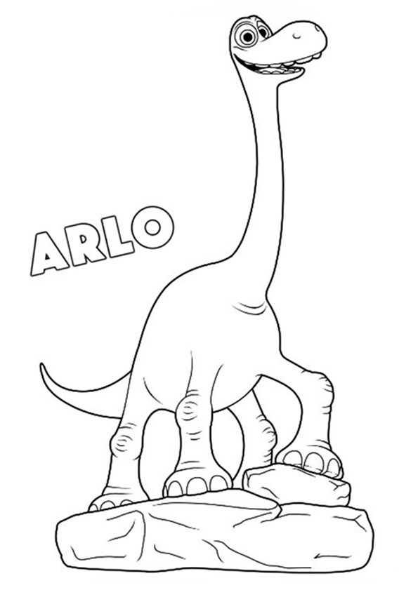 Der Gute Dinosaurier ausmalbilder kostenlos (1)