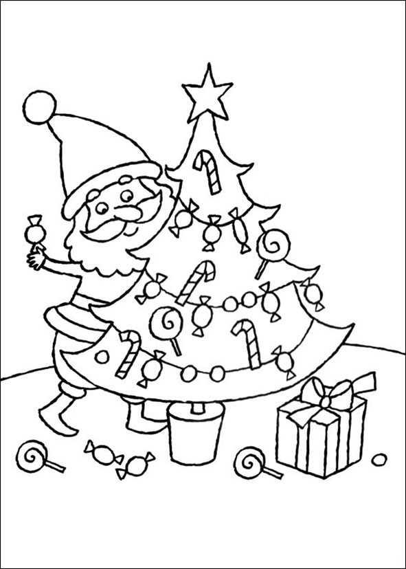 ausmalbilder Weihnachten 51