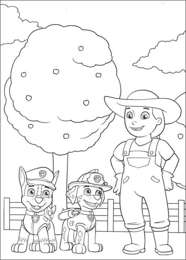 Ausmalbilder Paw Patrol (3)