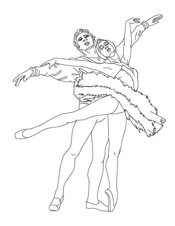 Ballett malvorlagen (2)