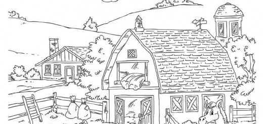 ausmalbilder Bauernhof (7)