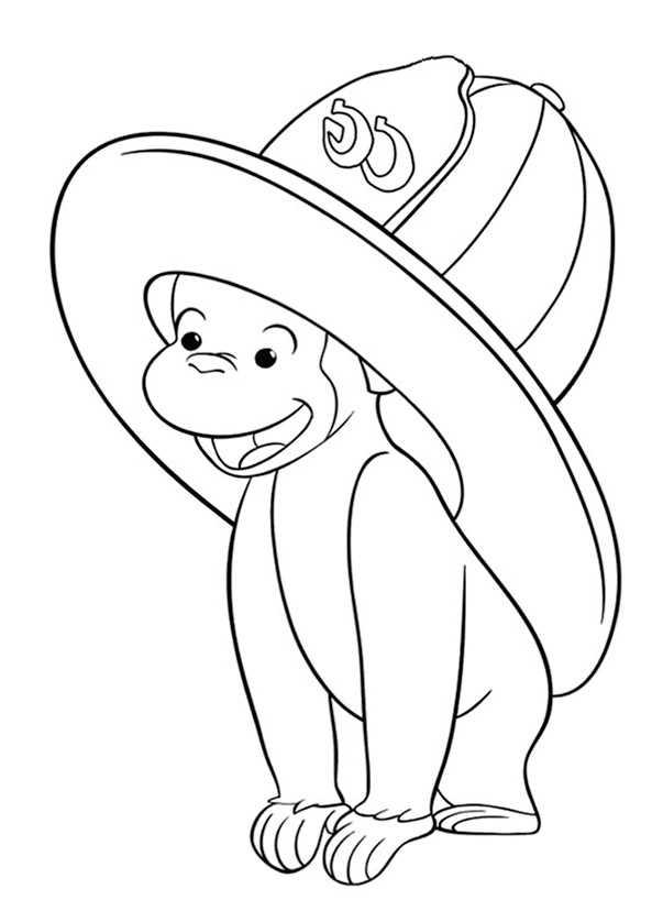 Affe zum ausmalen (11)