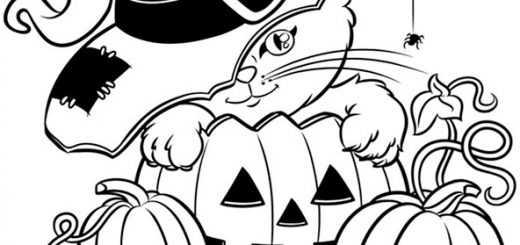 Halloween zum ausmalen 25