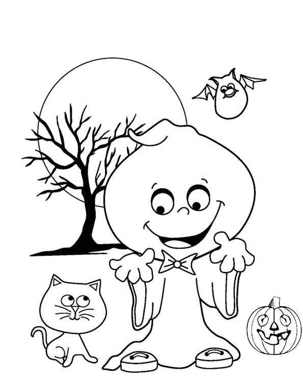 Halloween 28 | Ausmalbilder Kostenlos