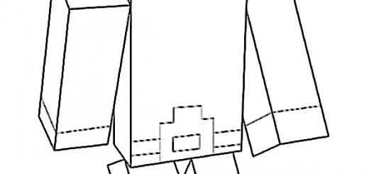 Ausmalbilder Minecraft 4