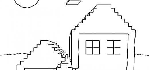 Ausmalbilder Minecraft 10