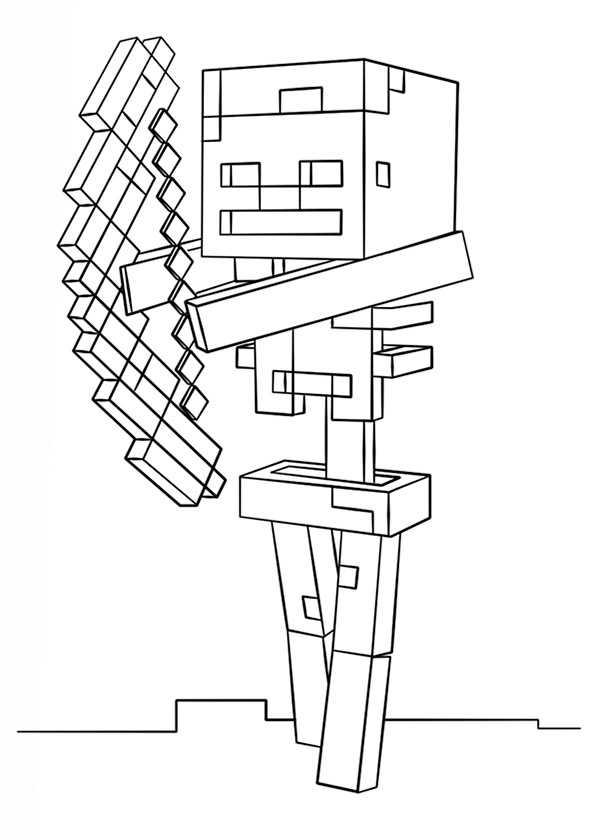 Ausmalbilder Minecraft 18
