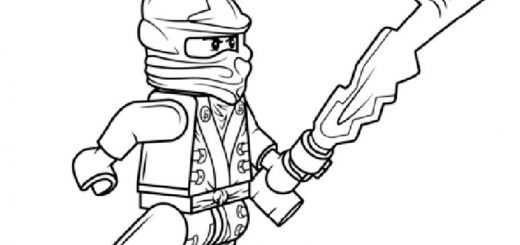 Ausmalbilder Ninjago 21