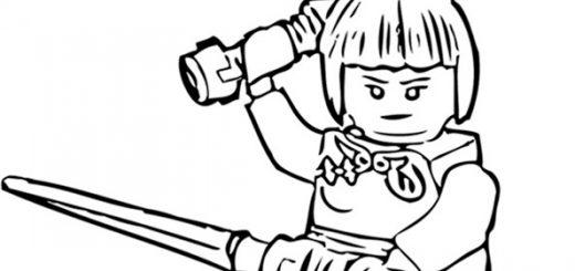 Ausmalbilder Ninjago 27