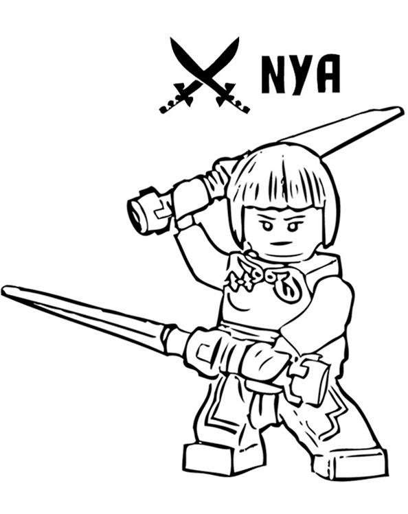Ninjago 27 Ausmalbilder Kostenlos