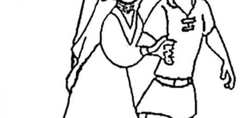 Ausmalbilder Robin Hood 1