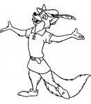 Ausmalbilder Robin Hood 2